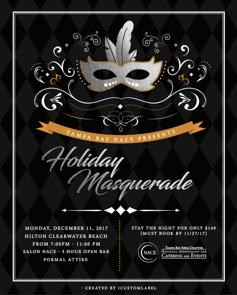 NACE Holiday Masquarade